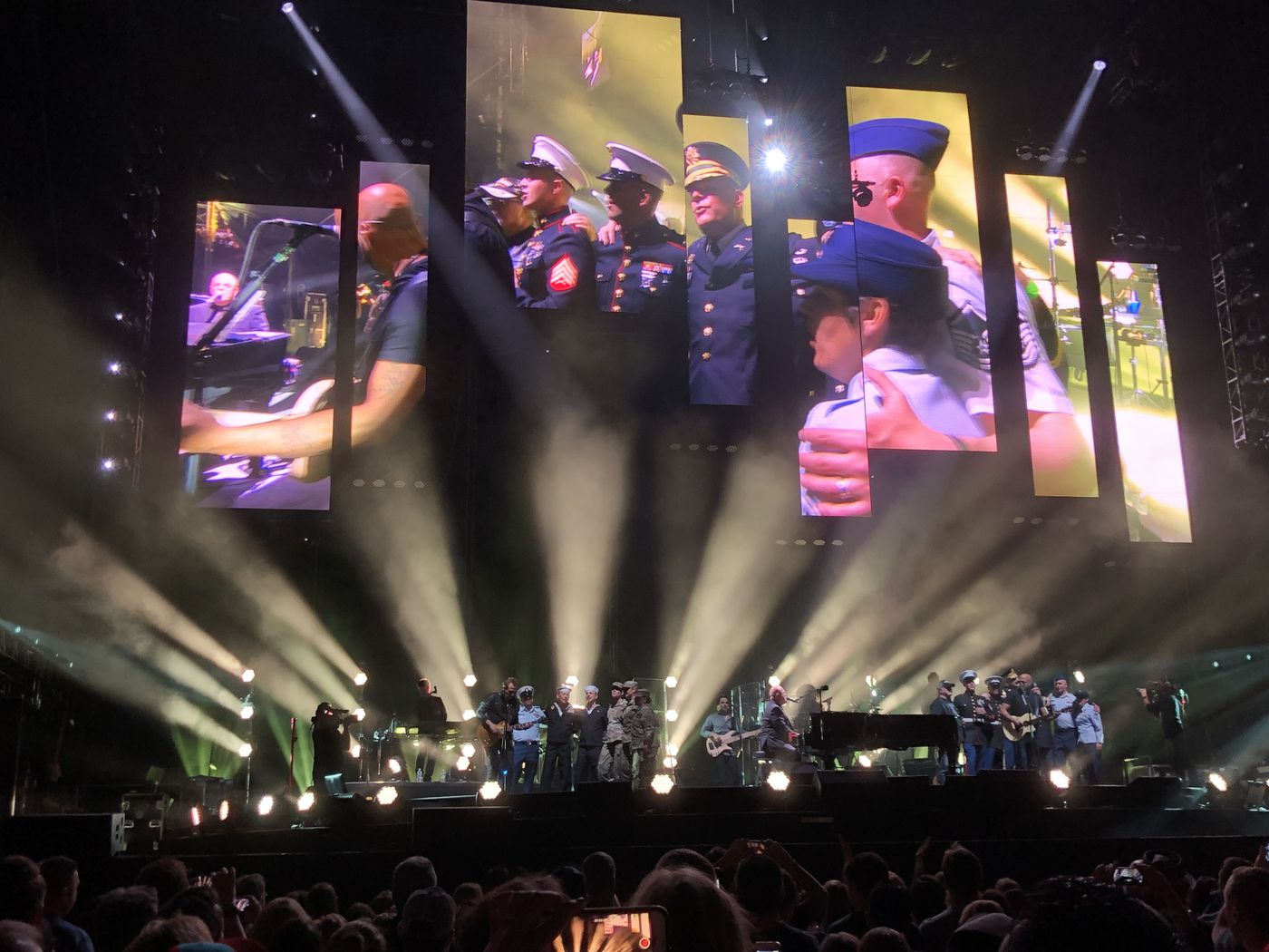 Billy Joel at Citizens Bank Park: The Piano Man brings out special guests for a night of hits, but doesn't Phi