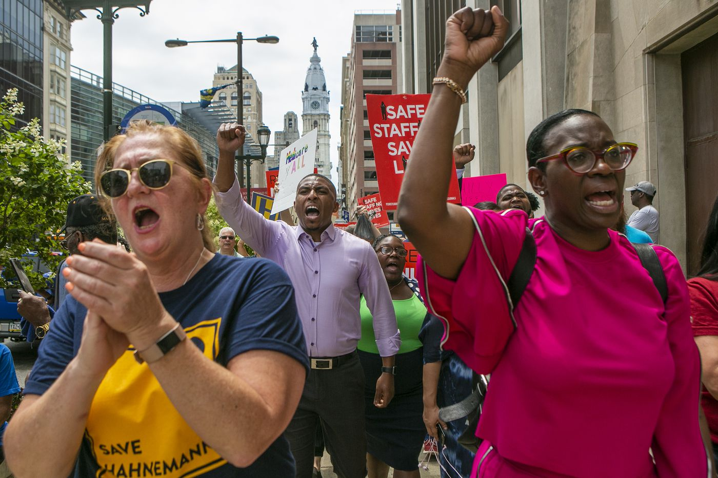 Low-wage worker unions are trying to flex their muscle in Philly's City Council race