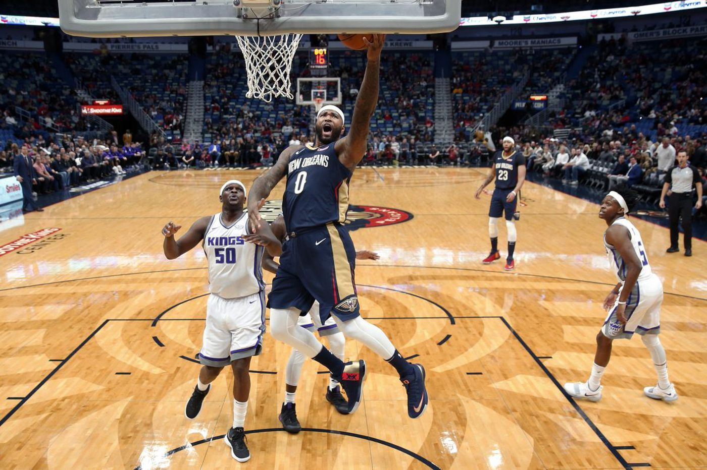 Sixers-Pelicans: Trying to overcome New Orleans' twin towers