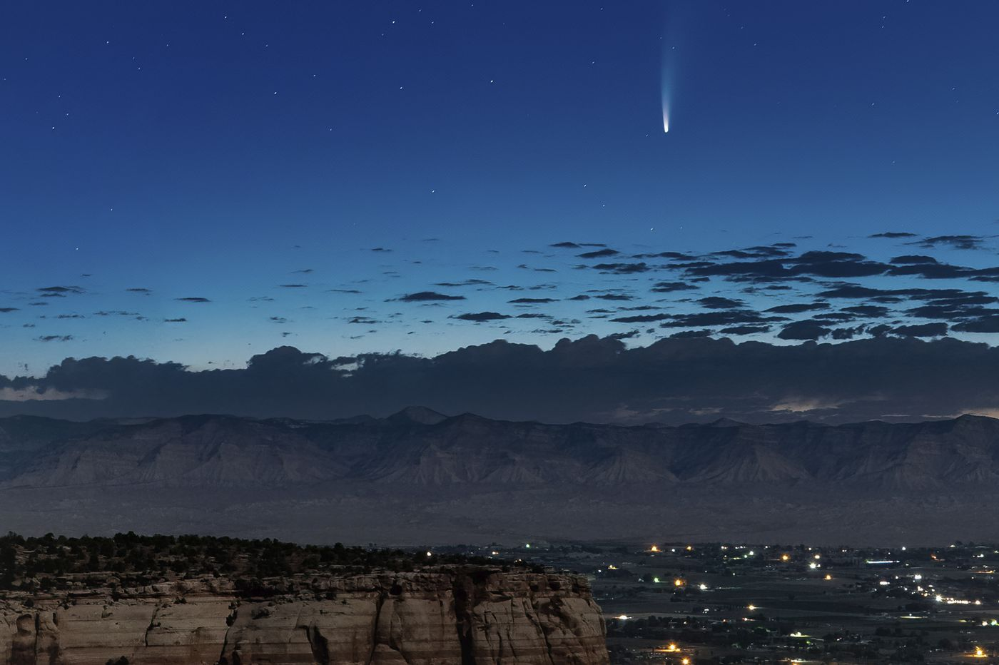 This is the time to see rare Comet Neowise, unless you're going to be around in A.D. 9020
