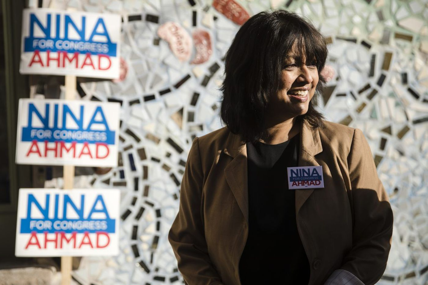 Nina Ahmad is making a million-dollar bet that an obscure state office will open future opportunities