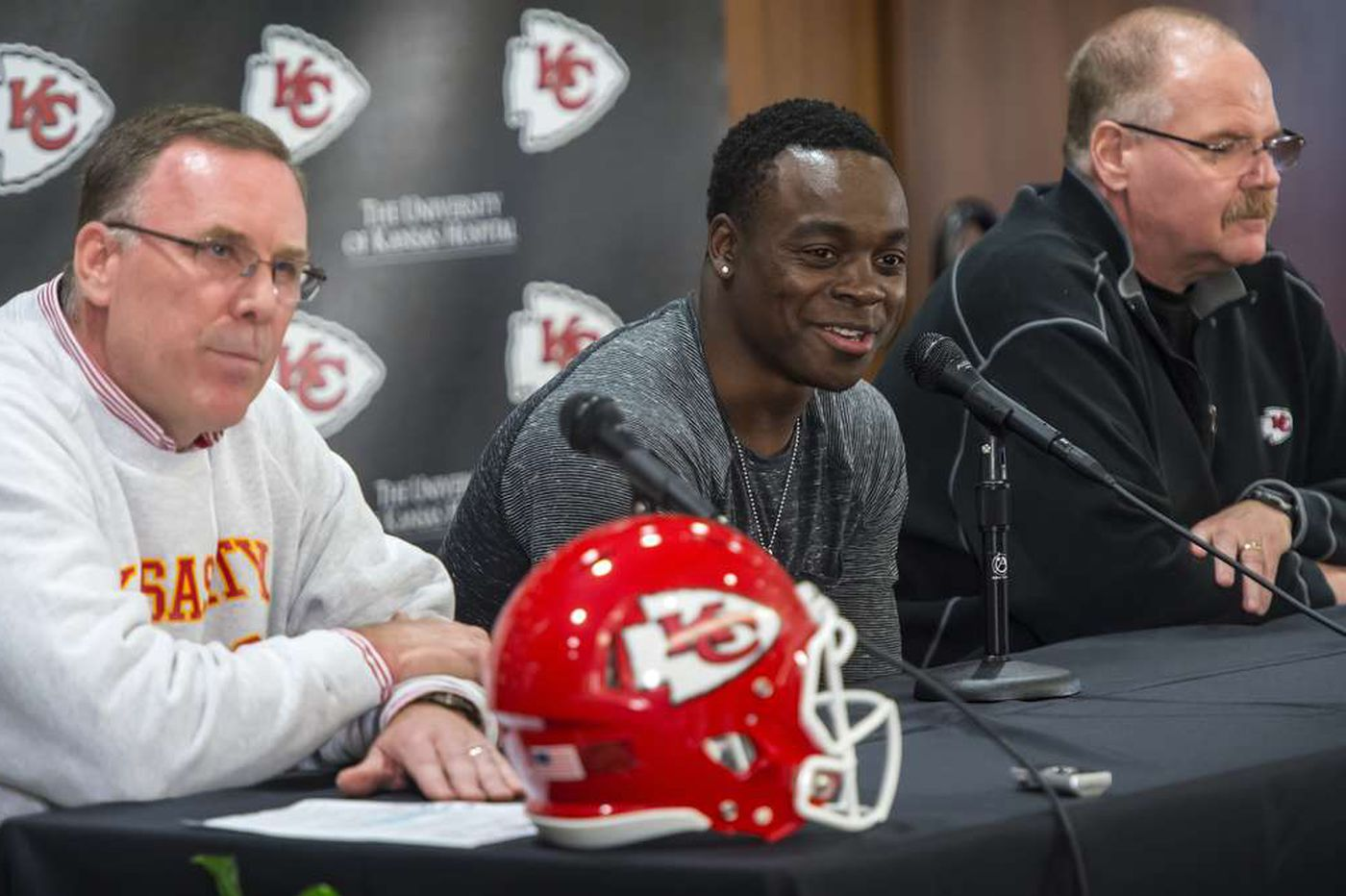 Maclin: 'Not all about the money'