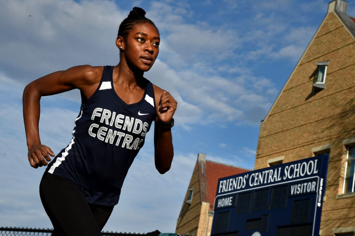 Friends' Central's Gabrielle Wilkinson continues family legacy of track excellence