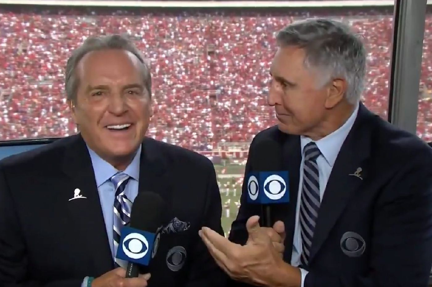 CBS' Brad Nessler on calling Army-Navy and being brought to tears by Verne Lundquist