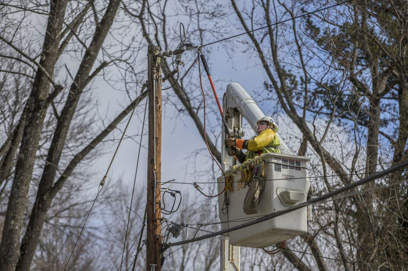 Friday's storm triggers a scramble to restore power, transit, and schools
