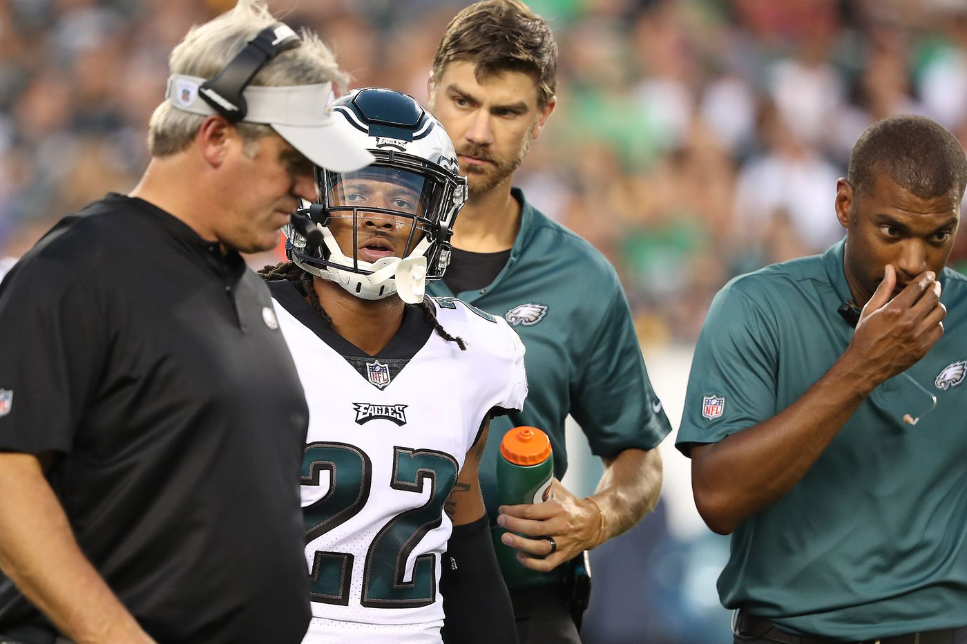 Sidney Jones survives injury scare in Eagles preseason opener