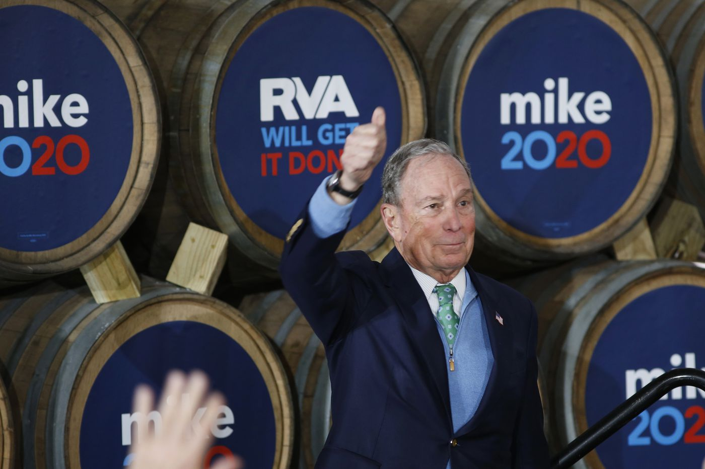 Mike Bloomberg makes Wednesday's debate stage, facing Democratic rivals for 1st time