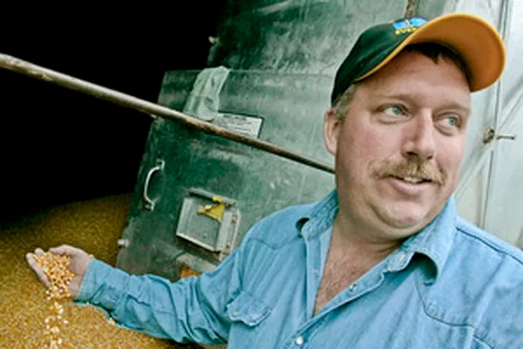 Chad Willis, a farmer in Willmar, Minn., has invested in the ethanol plant to which he sells the grain he grows.