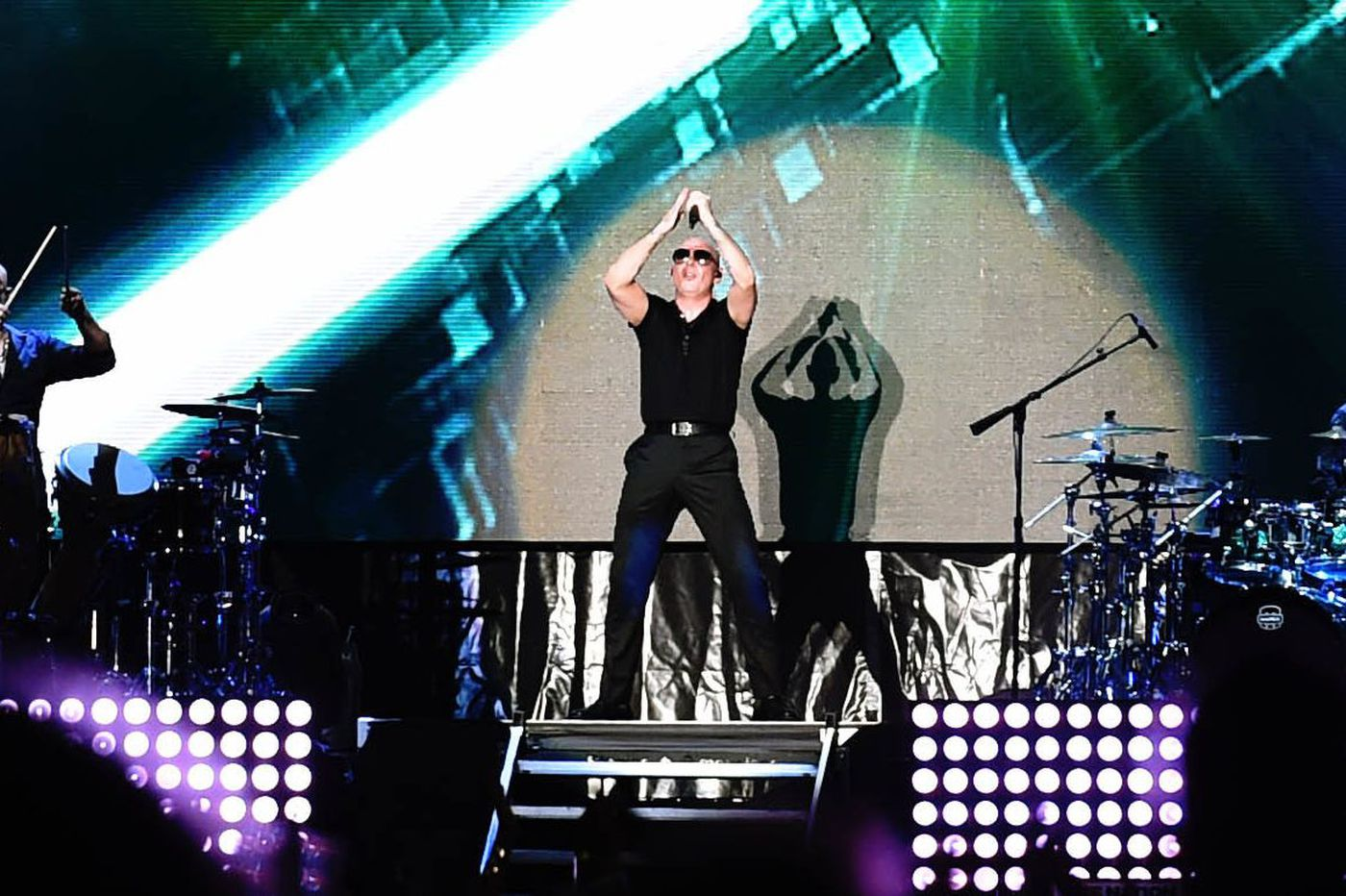 Pitbull lights up the Ben Franklin Parkway on the Fourth of July