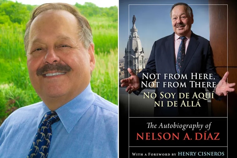 """Nelson Díaz, author of """"Not from Here, Not from There/ No Soy de Aquí ni de Allá."""""""