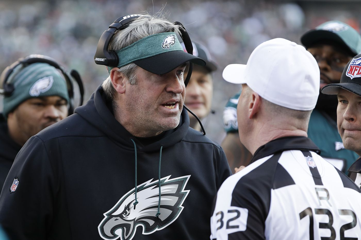 The NFL has an officiating problem, and it could burn the Eagles one day | Mike Sielski