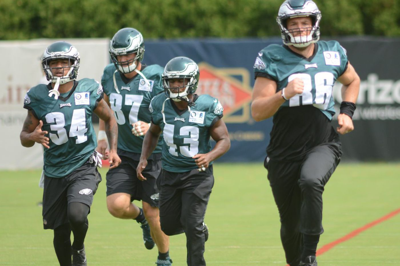 Meet the Eagles: 2017 opening-game roster