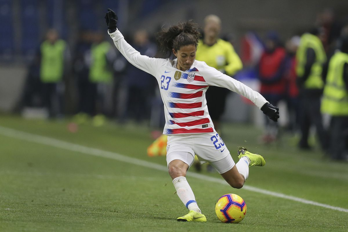 Christen Press Goal Gives U S Women S Soccer Team 1 0 Win