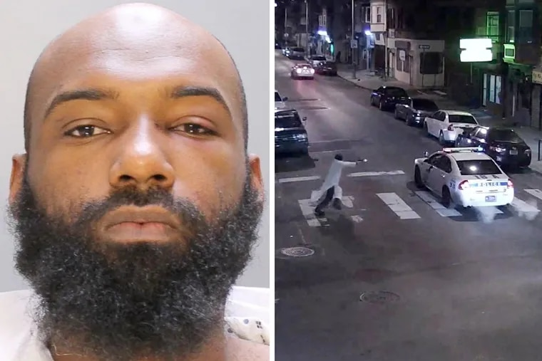 """Edward Archer, the Yeadon man who confessed to shooting a city police officer """"in the name of Islam,"""" was arraigned Saturday on charges including attempted murder."""