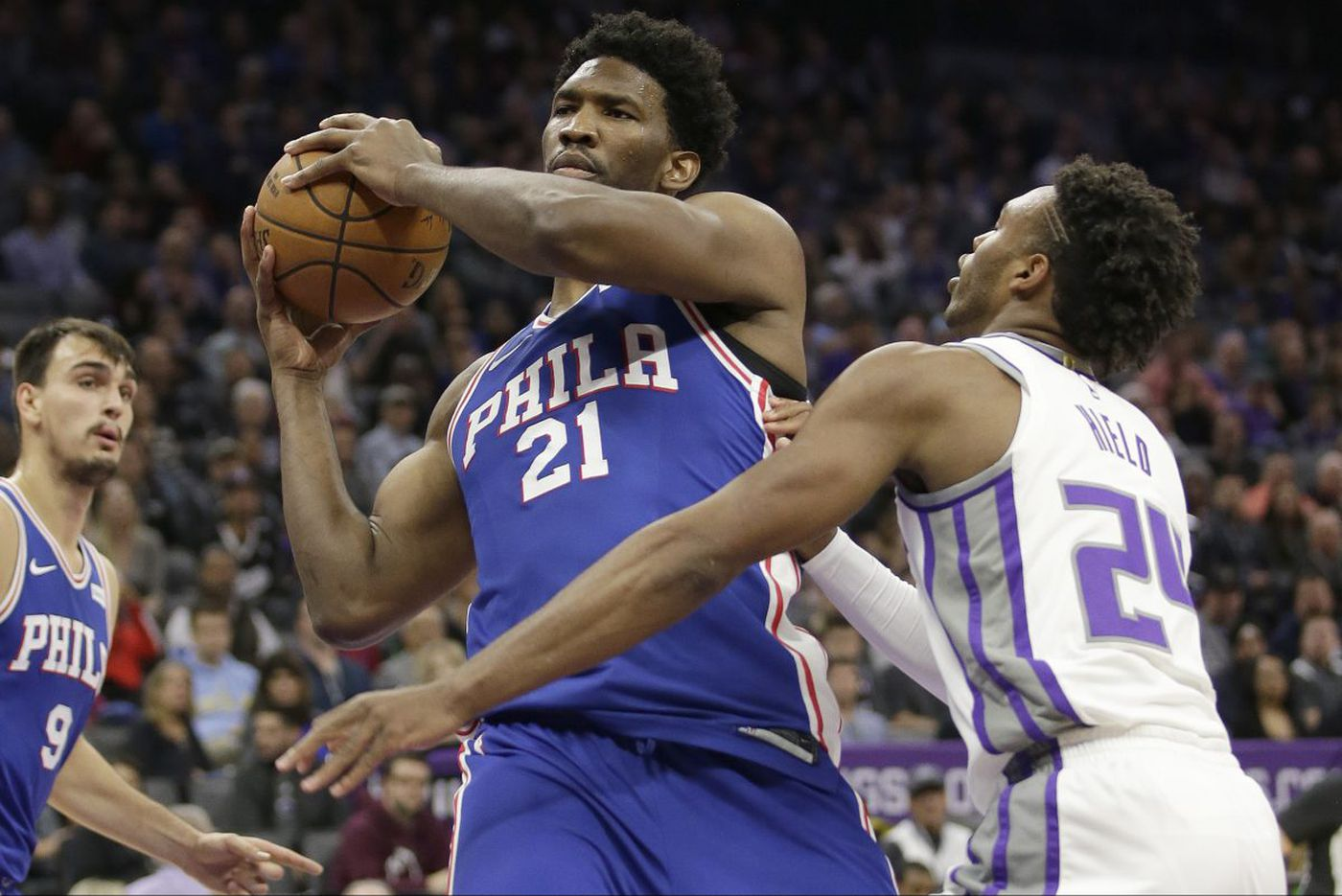 Joel Embiid has knee soreness, but Sixers aren't concerned