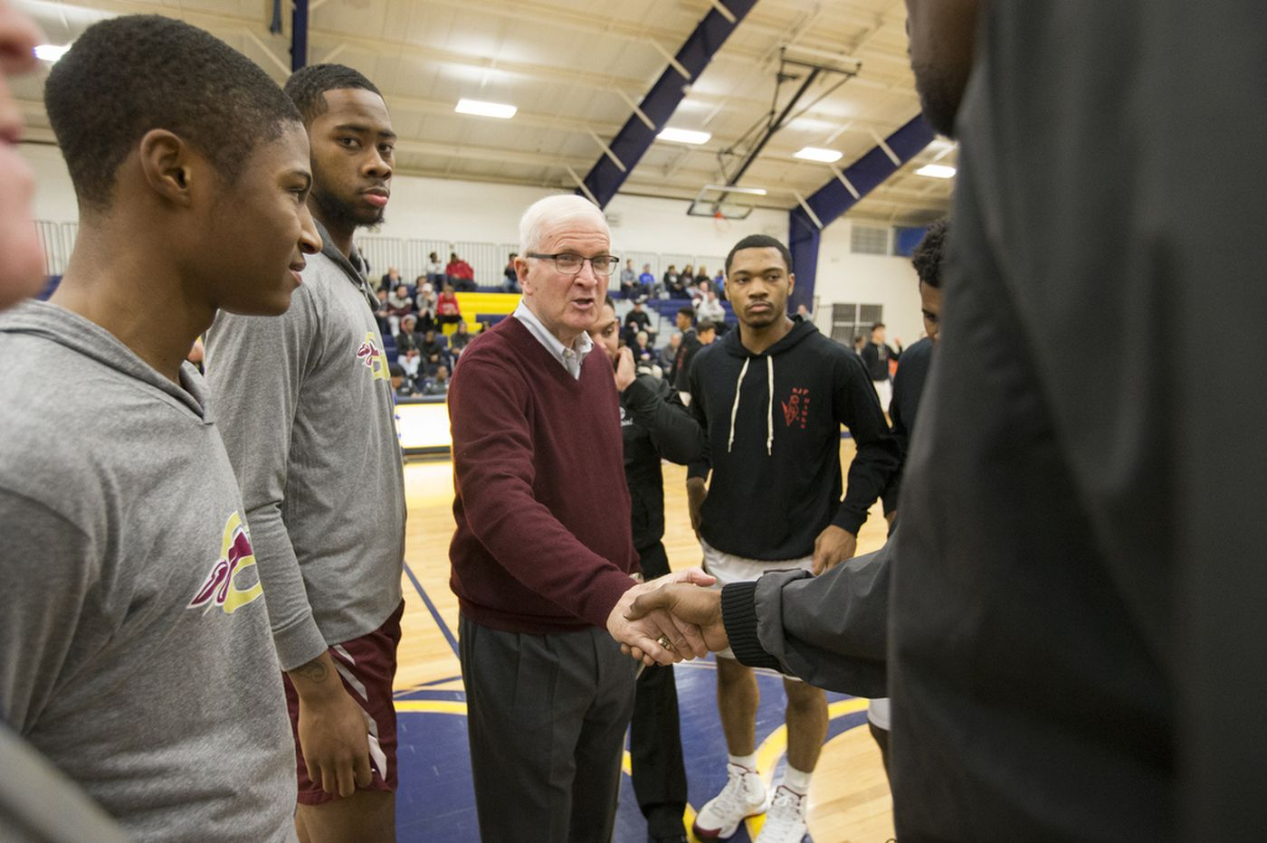 St. Joe's Prep basketball coach Speedy Morris, a Philly legend, to retire at end of season
