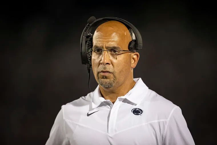 Penn State head coach James Franklin hopes to lead the Nittany Lions to a 4-0 start with a win against Villanova on Saturday.