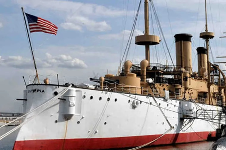 The USS Olympia.  Some believe she's haunted.(Clem Murray / Staff Photographer)