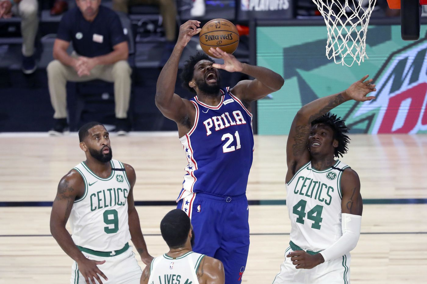 Joel Embiid ponders future with Sixers following early exit
