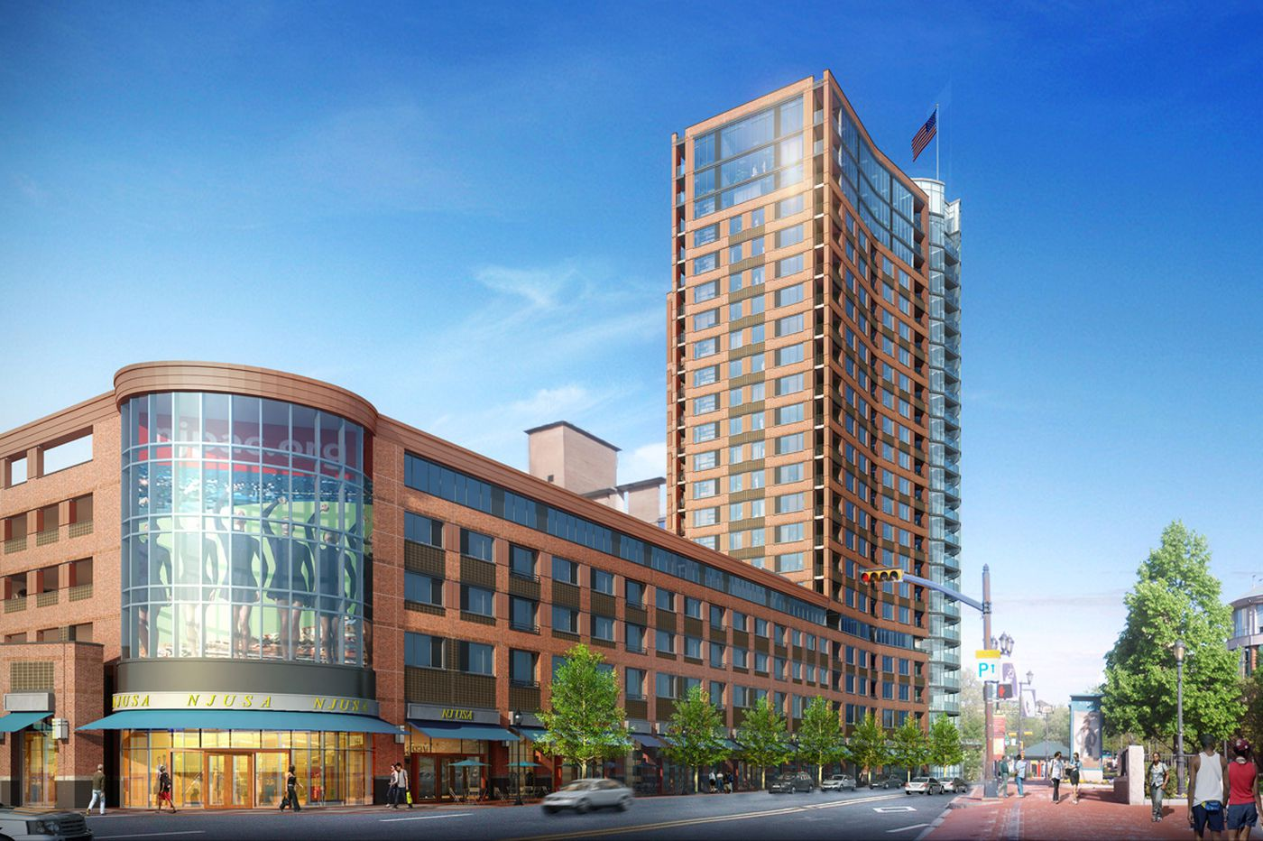 Construction begins on Dranoff's Newark high-rise project