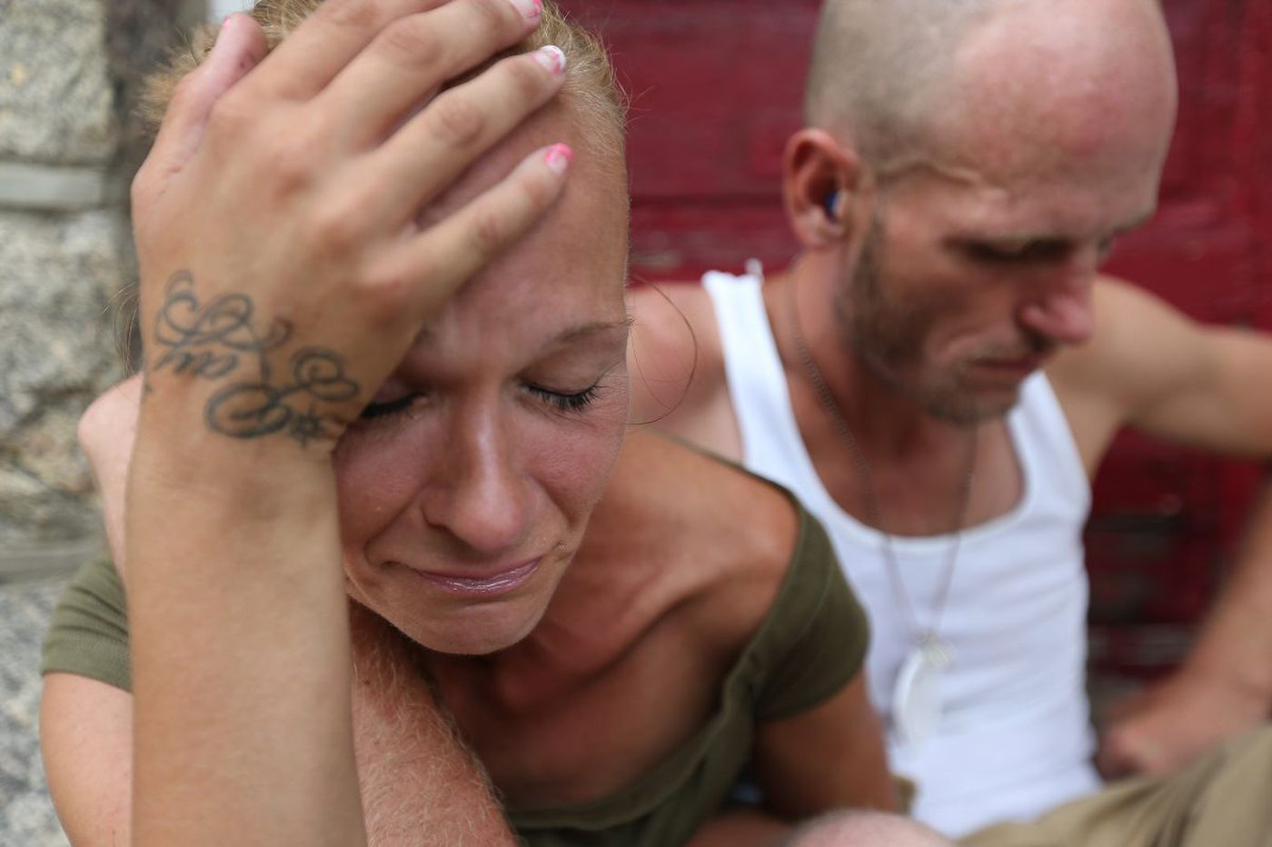 Hooked and hustling heroin: A couple's life in Kensington
