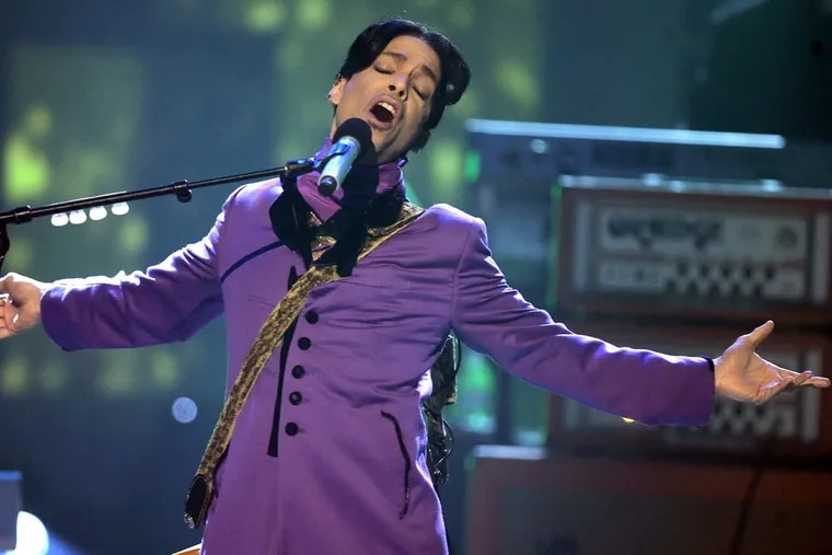 Prince performs at the sixth annual BET Awards in 2006 in Los Angeles.
