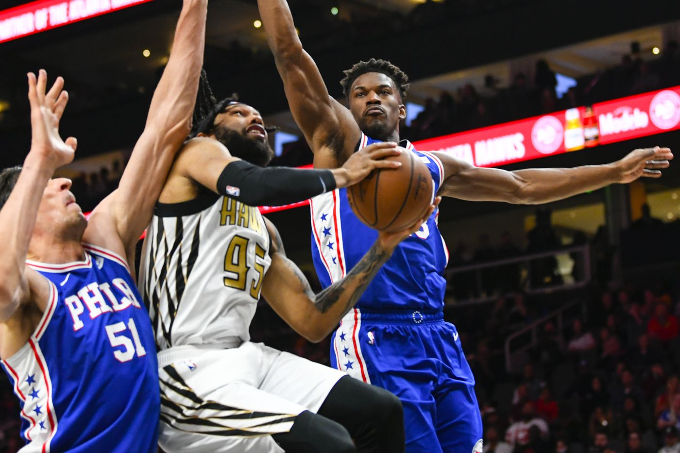 Sixers-Hawks observations: Continuing to play down to opponents' level, fourth-quarter turnover woes