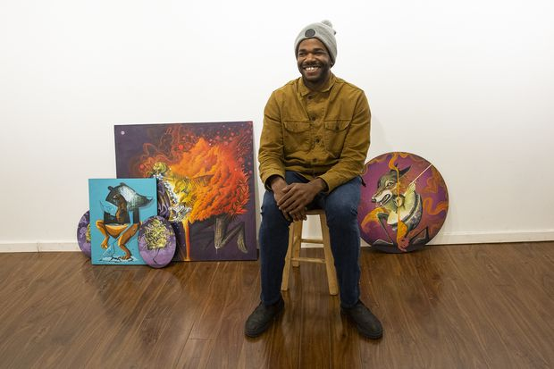 Philly artist Noségo brings his surreal style back home with first local exhibit in three years