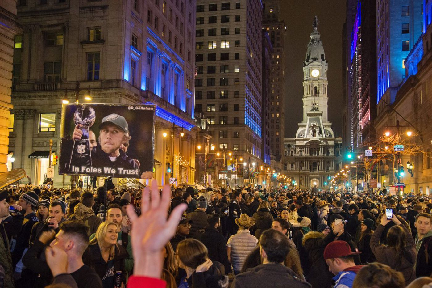 With Eagles win, Philadelphia and a region erupts
