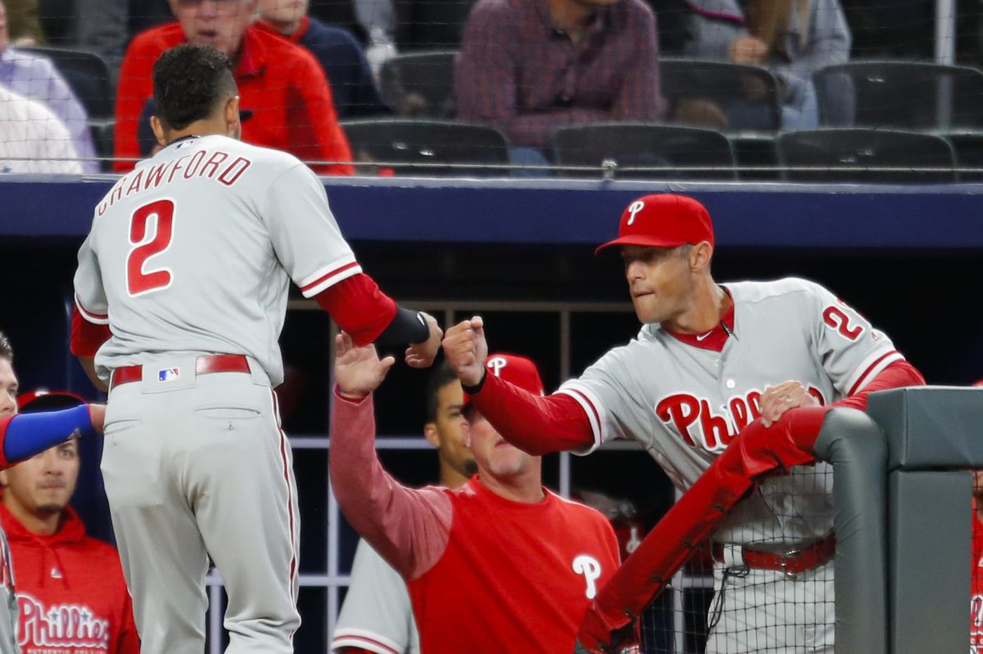 Gabe Kapler's 'dudes' in the pen come through against Braves | Bob Brookover