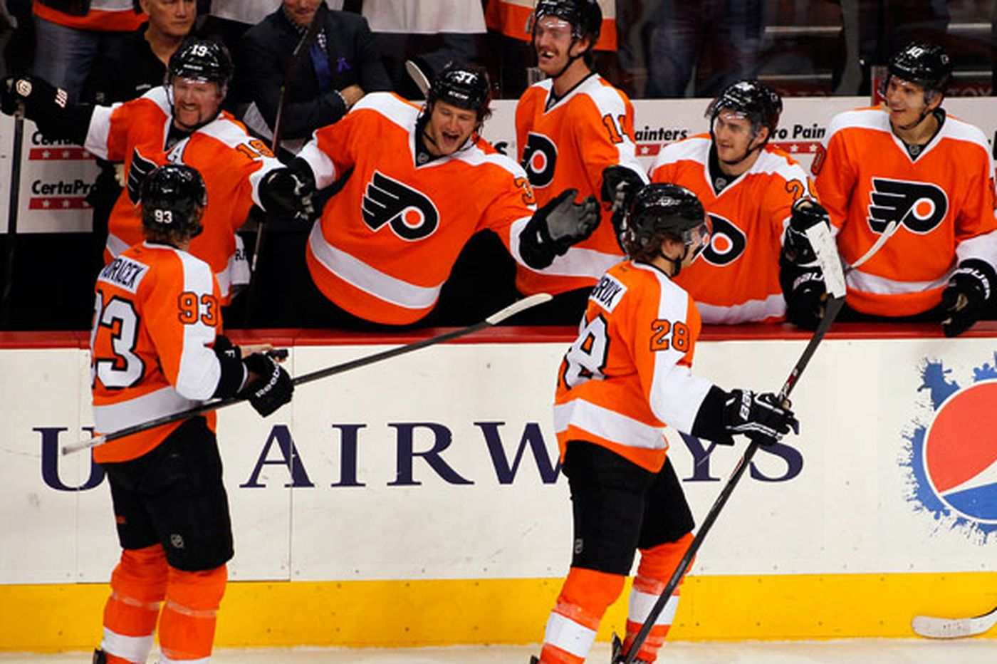 Flyers happy with Thursday's bounce-back effort
