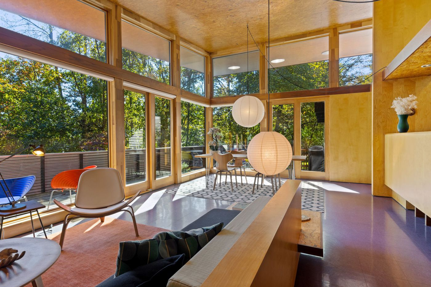 On the market: A Frank Lloyd Wright-inspired house in rural Chester County