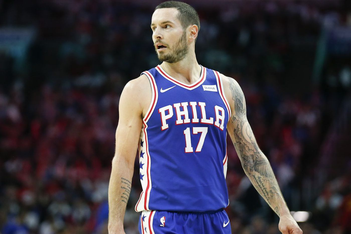Sixers' JJ Redick reiterates his apology concerning purported racial slur