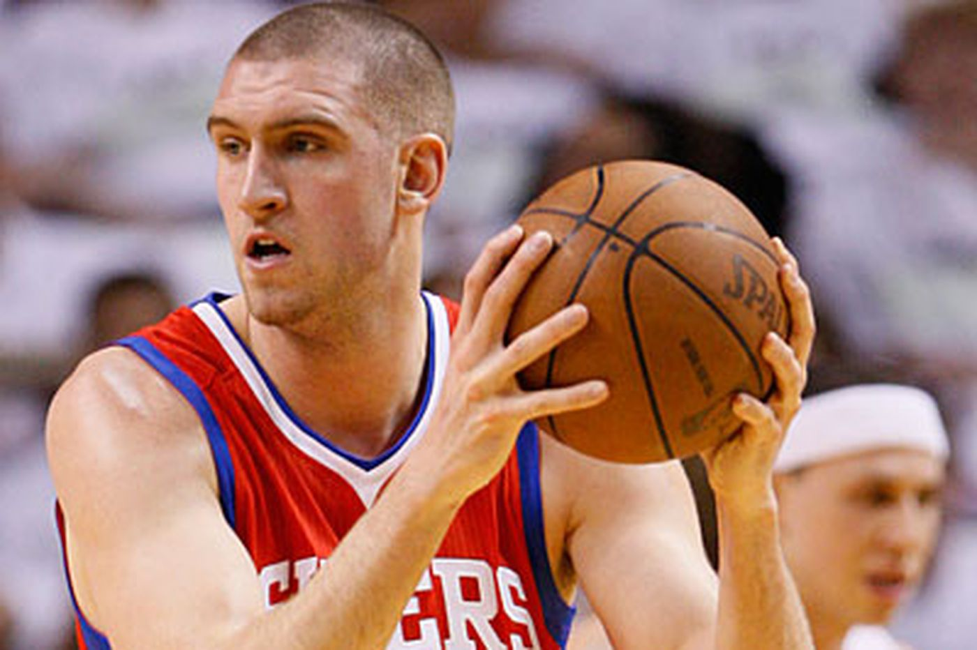 Sixers' Hawes pumped up and ready to play