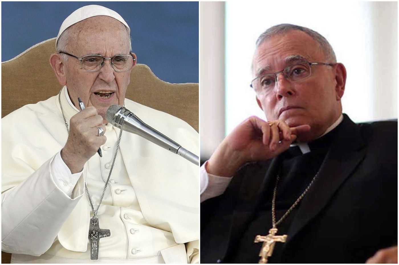 For Archbishop Chaput and Pope Francis, envoy's letter a reminder of past tensions