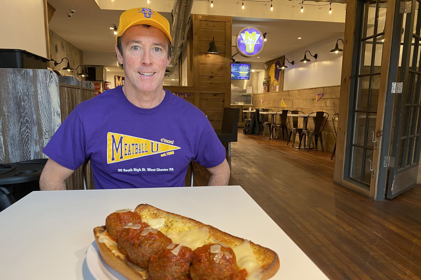 At Meatball U in West Chester, they're kickin' it bold school with their sandwiches and pasta