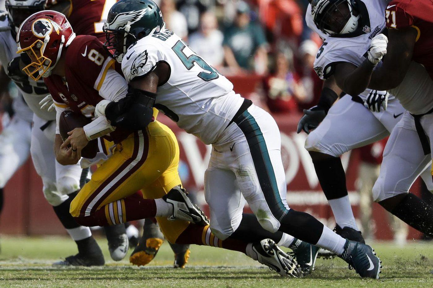 Pressure is nice, but Brandon Graham wants sacks