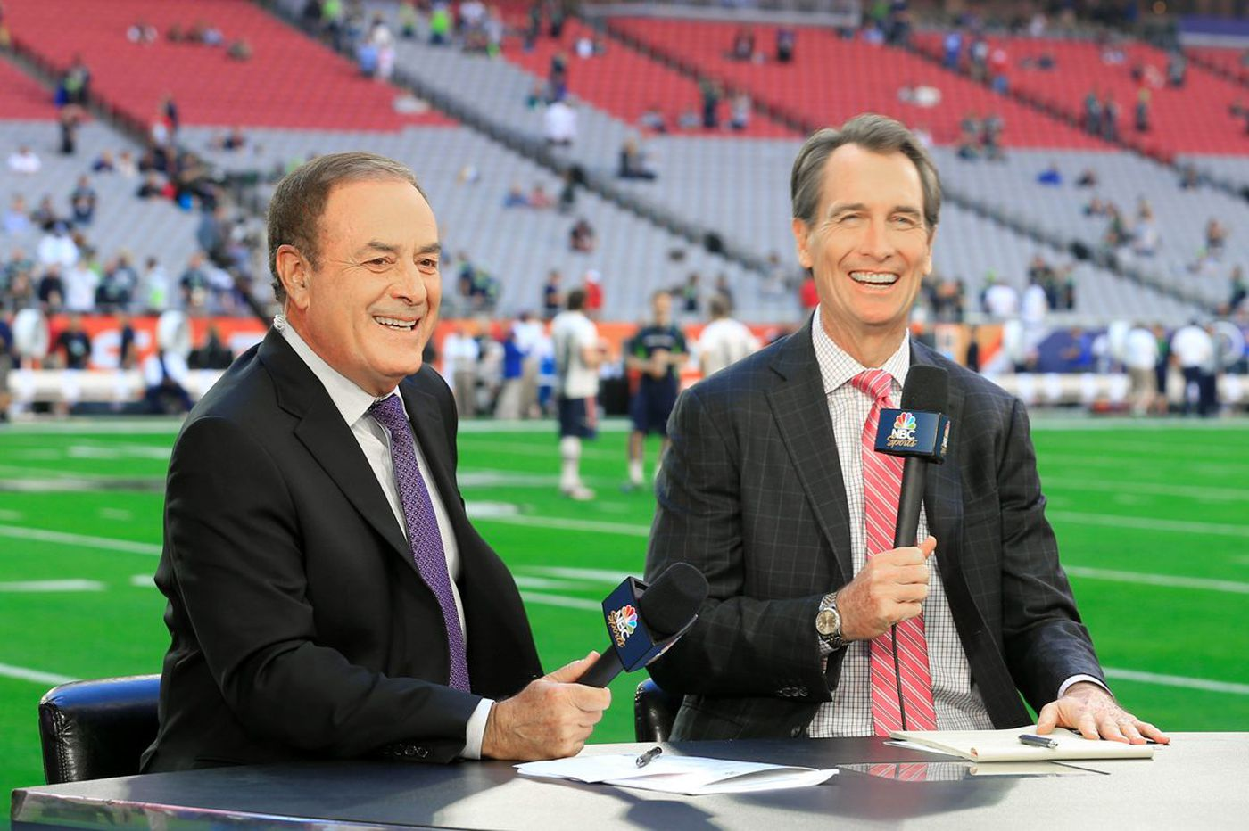 NBC broadcaster Al Michaels on the Eagles, NFL ratings declines and Tony Romo