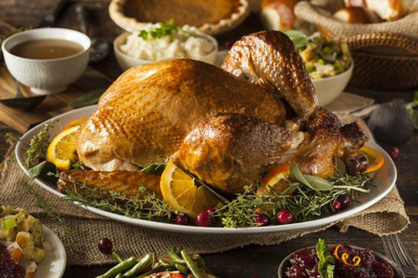 In Philly, a two-bedroom apartment costs 15.7 turkey dinners