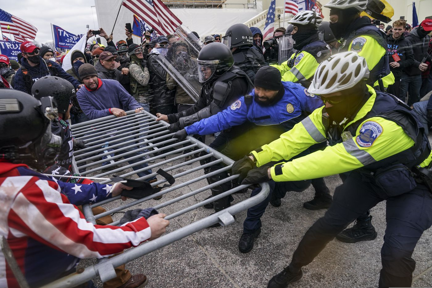 Capitol insurrection should spark end to America's warped, white supremacist way of policing | Will Bunch
