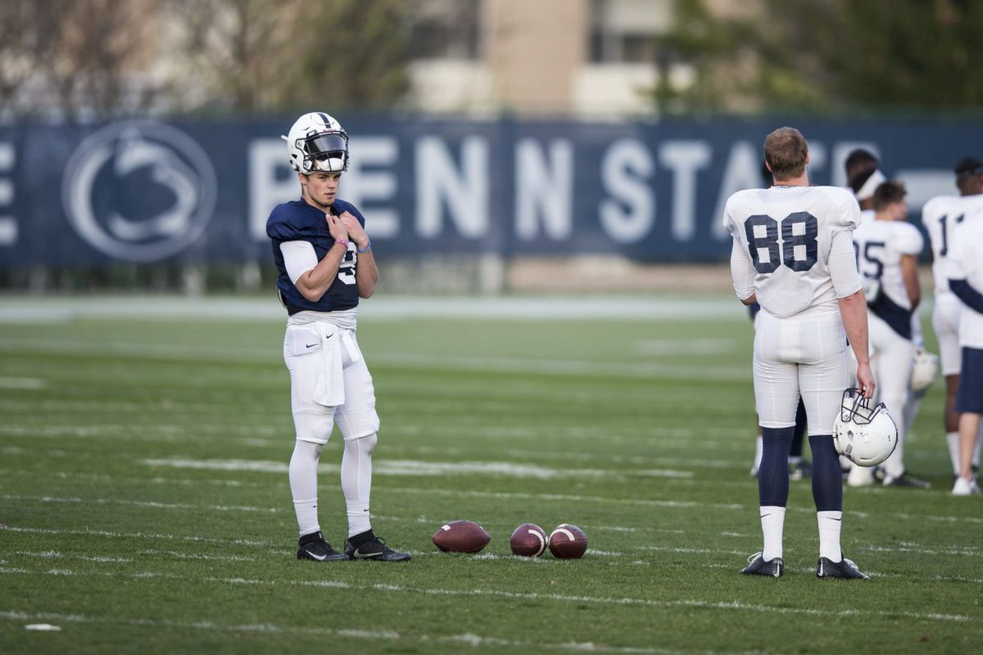 Extended playing time in Penn State spring game no problem for Trace McSorley