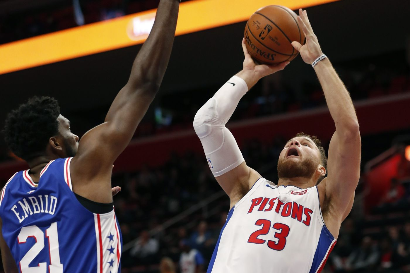 Sixers can't overcome Blake Griffin, Pistons