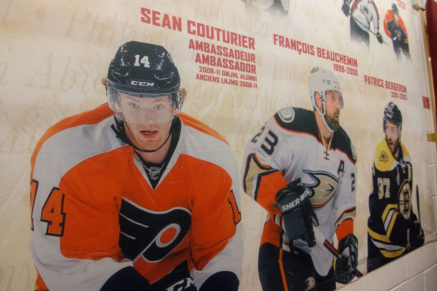 Flyers center Sean Couturier's Canada roots formed a balance in hockey and life
