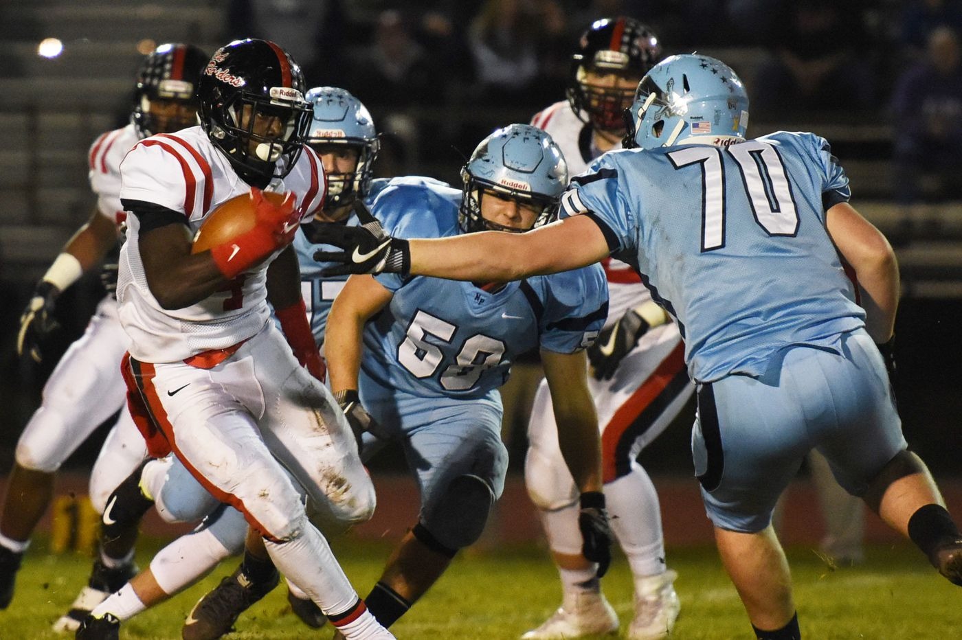 Coatesville-North Penn PIAA District 1 Class 6A final highlights football playoff slate