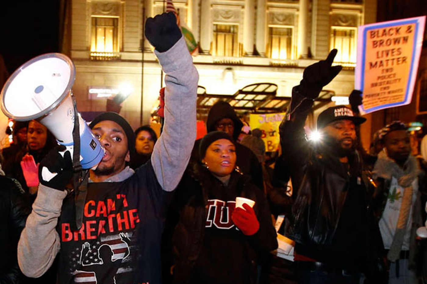 BlackOut Philly protests against police brutality