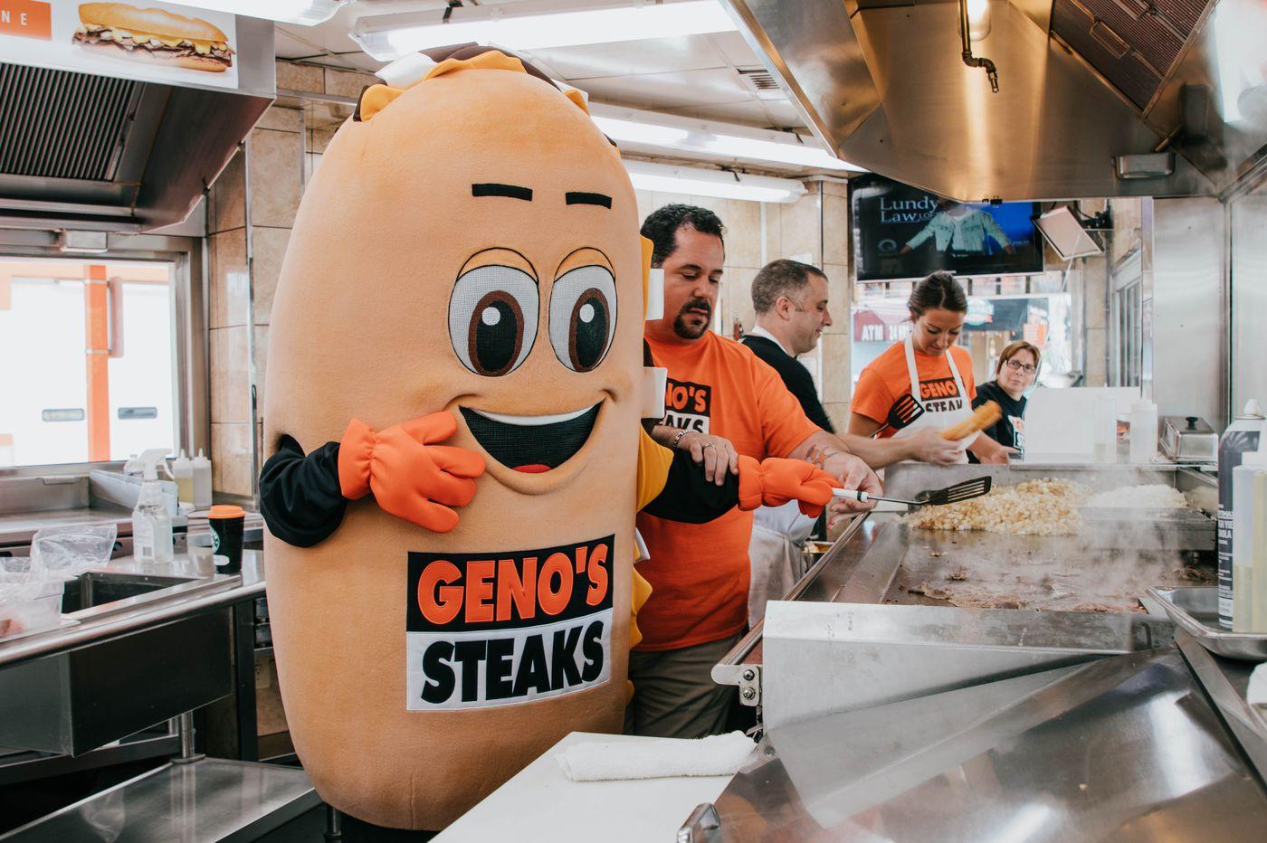 Geno's debuts new cheesesteak mascot 'Whizzy'