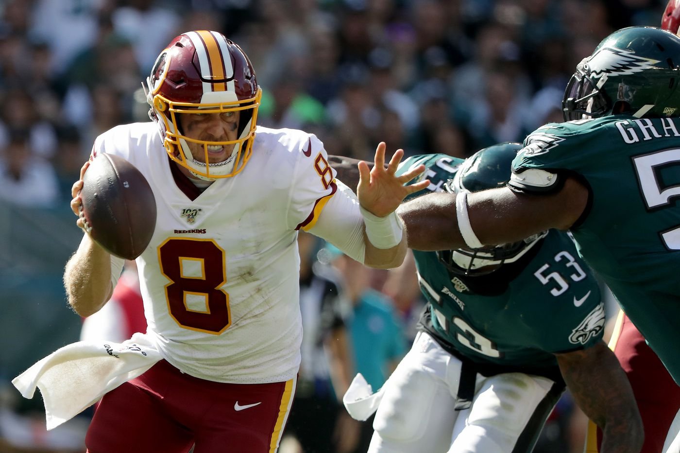 Several Eagles coming off injuries and no preseason action made big contributions vs. Redskins
