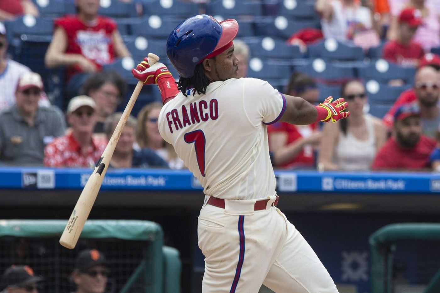 Phillies settle with Cesar Hernandez, Maikel Franco, Luis Garcia