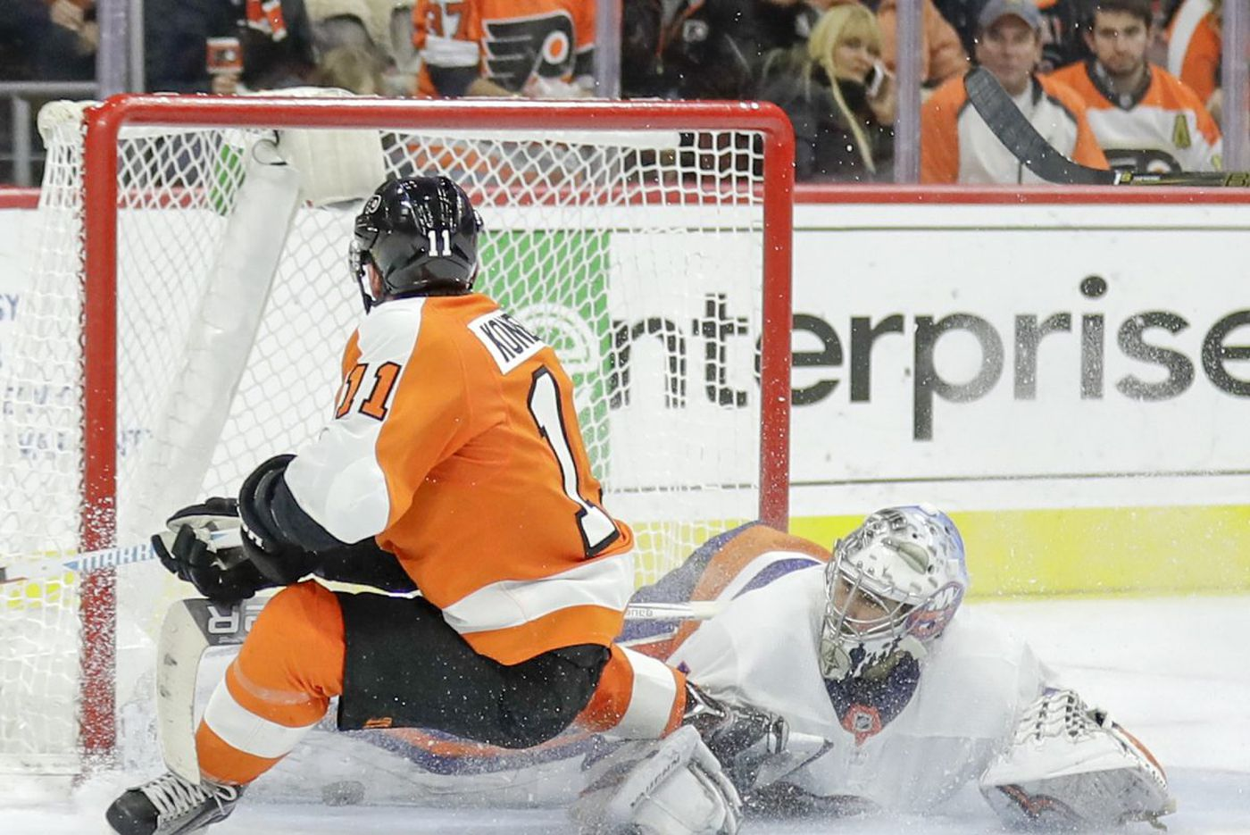 'Little waterbug' Travis Konecny sparks Flyers' fourth line
