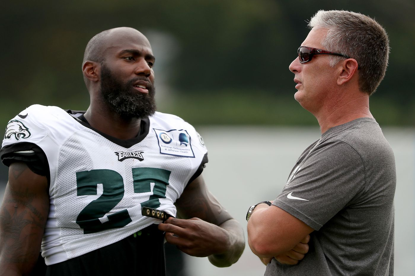 Bring on the Ravens: Eagles players looking forward to two days of joint practices with Baltimore